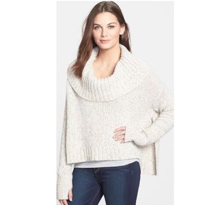 Eileen Fisher Cashmere Blend Cowl Neck Sweater